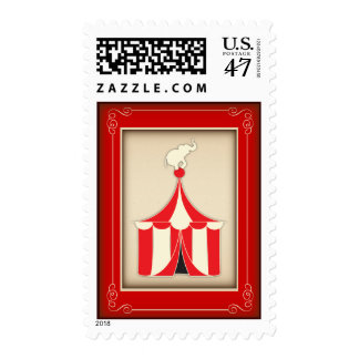 Franqueo del top grande del fiesta del carnaval sello postal