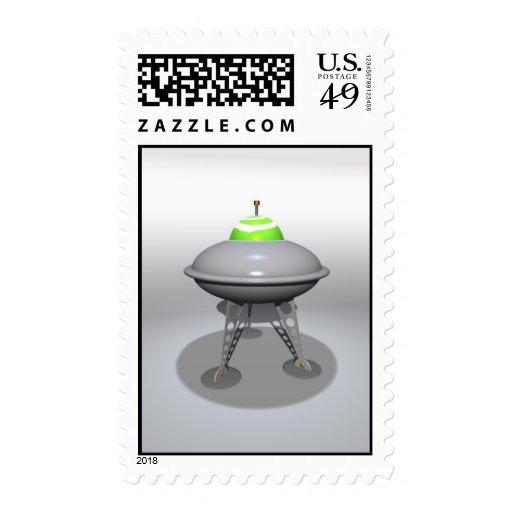 Franqueo del UFO del juguete