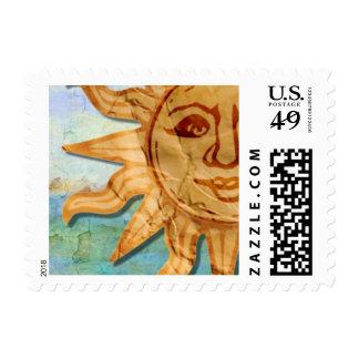 Franqueo del viaje sello postal