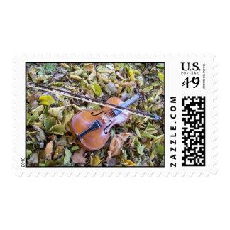 franqueo del violín