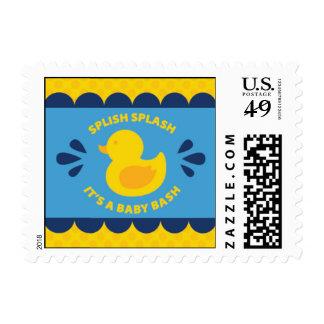 Franqueo Ducky de goma de la fiesta de bienvenida Sello Postal