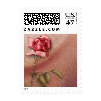 Franqueo elegante 01 de los rosas sellos postales