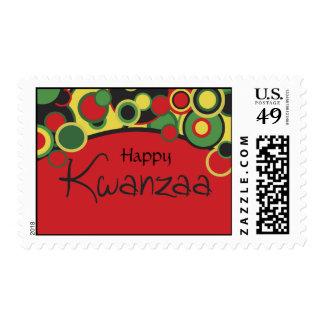 Franqueo feliz de Kwanzaa
