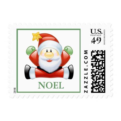 """Franqueo feliz de Santa """"Noel"""""""