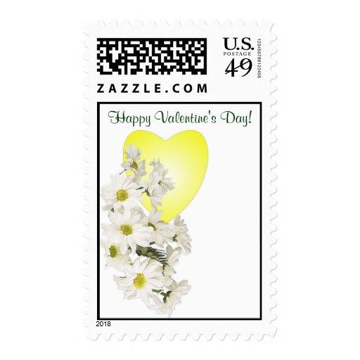 Franqueo feliz hermoso #2 del el día de San Valent Sello Postal