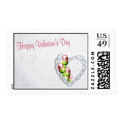 Franqueo feliz hermoso del el día de San Valentín