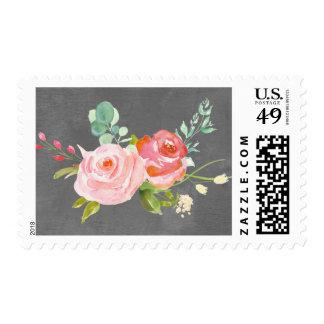 Franqueo floral de la rosaleda sellos
