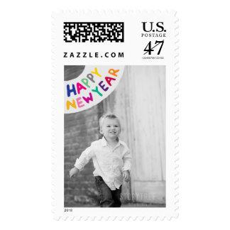 Franqueo grande del día de fiesta de la foto: sello postal