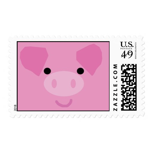 Franqueo guarro lindo timbre postal