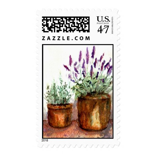 Franqueo herbario sello