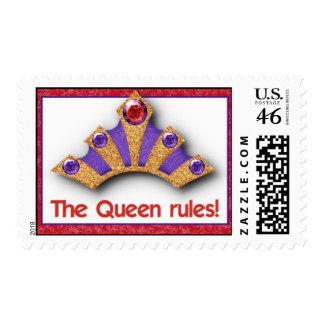 ¡Franqueo - las reglas de la reina!