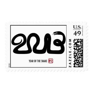 Franqueo lunar chino del Año Nuevo 2013