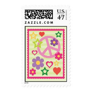 Franqueo maravilloso retro sello postal