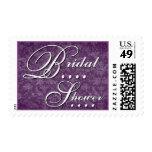 Franqueo nupcial púrpura elegante de la ducha V421