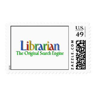 Franqueo original del Search Engine del biblioteca