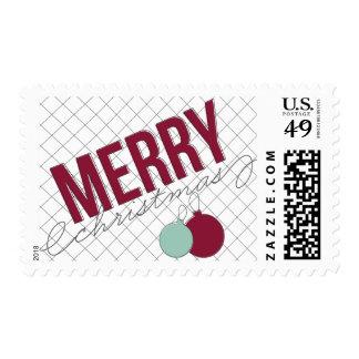 Franqueo ornamental del día de fiesta sello postal