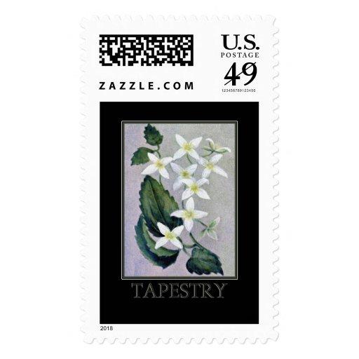 Franqueo para hacer juego la tarjeta de la tapicer timbre postal