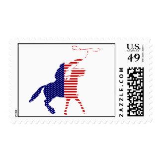 Franqueo patriótico sello postal