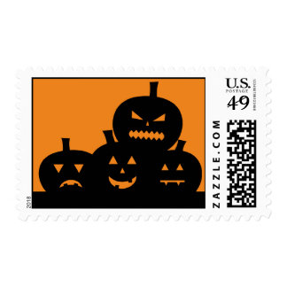 Franqueo personalizado Halloween tallado de las Sellos Postales