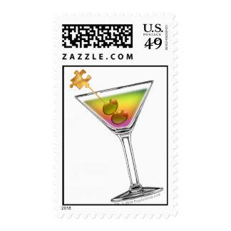 Franqueo - píldoras felices de los martinis v