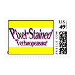 Franqueo Pixel-Manchado de Technopeasant