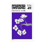 franqueo/púrpura del flor