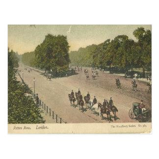 Franqueo putrefacto del vintage de Londres de la Postal