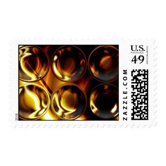Franqueo radical del arte 16 timbre postal