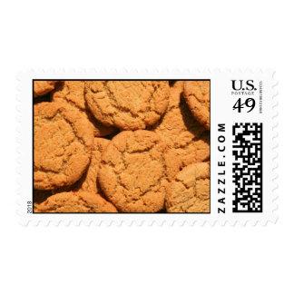 Franqueo rápido de las galletas del jengibre sello