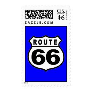 Franqueo retro de la ruta 66