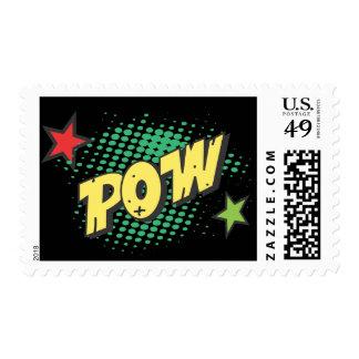 Franqueo retro del prisionero de guerra del superh sello postal