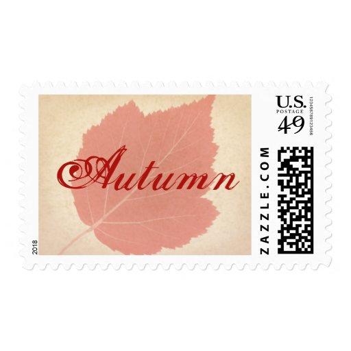 Franqueo rojo del personalizado de la hoja del sello postal
