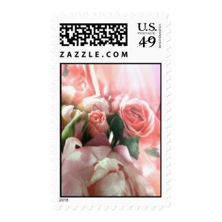 Franqueo rosado de los rosas