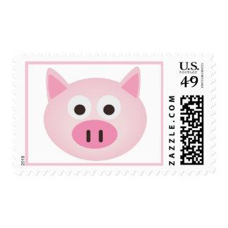 Franqueo rosado del cerdo