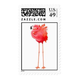 Franqueo rosado del flamenco