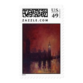 Franqueo sello de Big Ben Londres