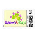 """franqueo Stamp☆♥♪ del """" día de madre feliz"""" del ♫☆"""