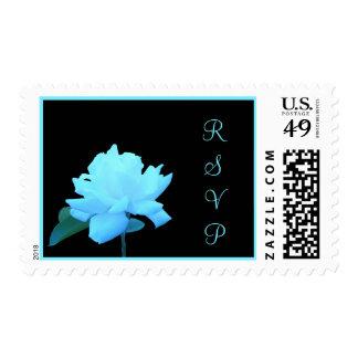 Franqueo subió azules claros de RSVP