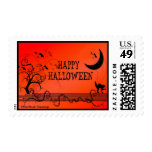 Franqueo temático de Halloween