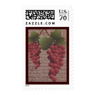 Franqueo temático del vino de la vid del Viejo Mun