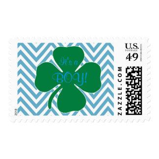 Franqueo temático irlandés de la fiesta de timbres postales