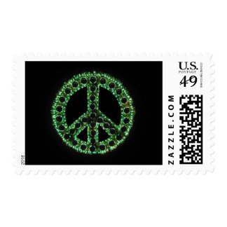 franqueo verde de la paz