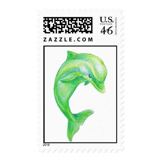 Franqueo verde del delfín