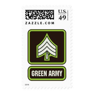 Franqueo verde del ejército