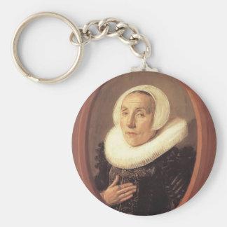 Frans Hals- Anna van der Aar Key Chain