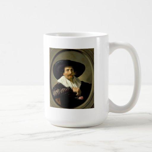 Frans Hals Art Classic White Coffee Mug