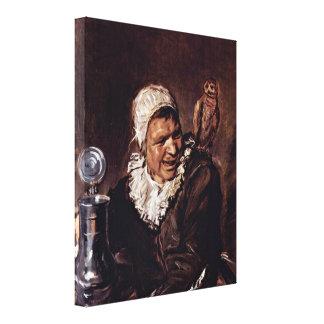 Frans Hals - Malle Babbe Canvas Print