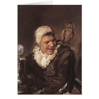 Frans Hals- Malle Babbe Greeting Card