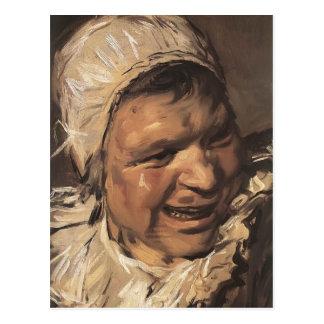 Frans Hals- Malle Babbe (detail) Postcard