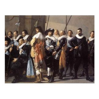 Frans Hals- Meagre Company Tarjetas Postales